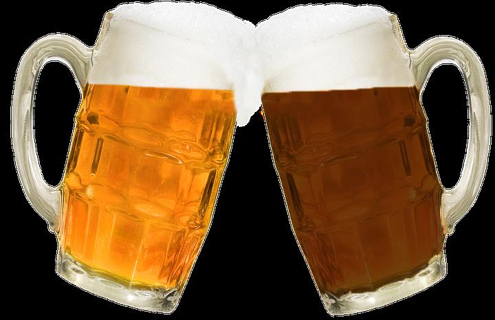 La cerveza engorda la barriga